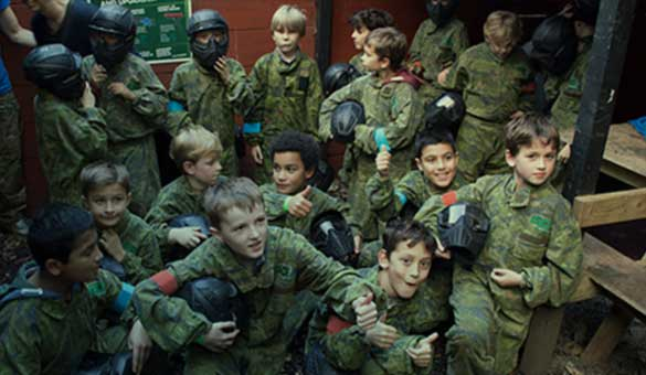Kids Paintballing