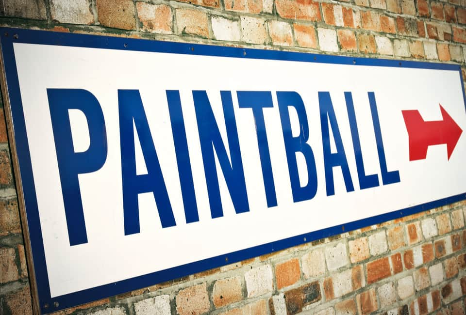 Paintball itinerary