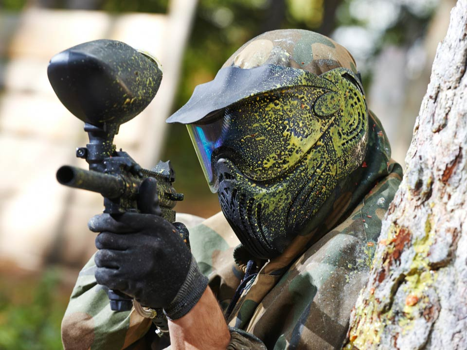 Paintball: perfect summer holiday activity for older children