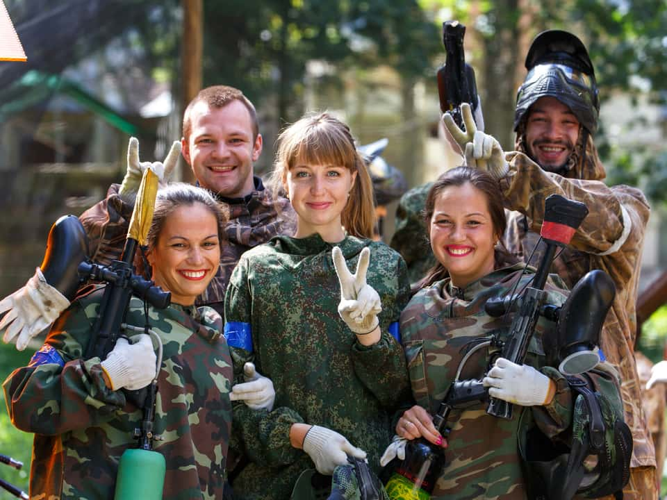 Paintball London Perfect Workplace Team Building