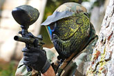 Paintballing Summer Holiday Activity for Older Kids