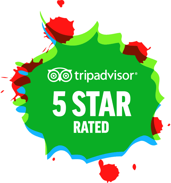 Tripadvisor 5 Star Rated