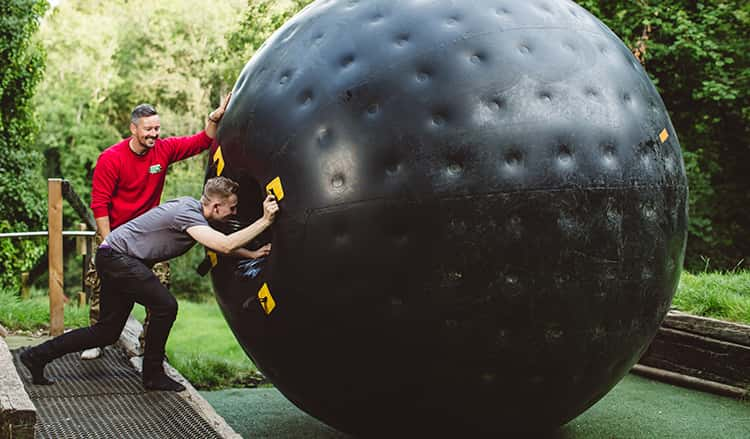 GO Zorbing London Blackhole
