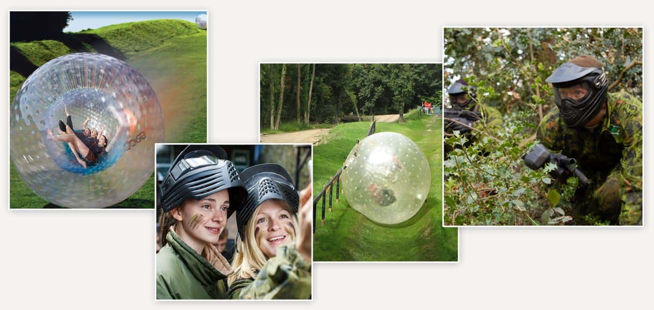 Work at GO Zorbing and GO Paintball